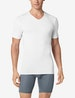 Cool Cotton High V-Neck Stay-Tucked Undershirt 2.0 Image