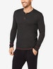 Second Skin Lounge Ribbed Henley Image