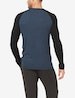 Long Sleeve Lounge Colorblock Henley