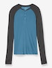 Second Skin Lounge Colorblock Henley