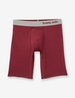 Cool Cotton Boxer Brief, Solid Heather