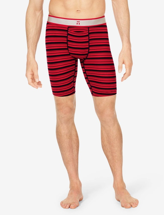 Air Mesh Boxer Brief, Stripe