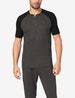 Second Skin Lounge Short Sleeve Colorblock Henley