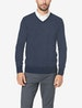 Second Skin V-Neck Knit Sweater Image