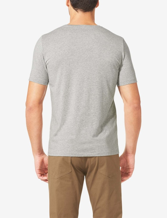 Second Skin Crew Neck Graphic Tee, Invisible T