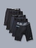 Core Fabric Boxer Brief Sampler 5 Pack, Black