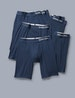 Cool Cotton Boxer Brief 5 Pack, Navy