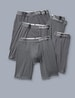 Cool Cotton Boxer Brief 5 Pack, Iron Grey