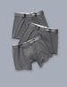 Cool Cotton Trunk 3 Pack, Iron Grey