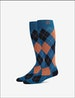 Stay-Up Dress Sock, Print Image