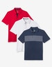 Second Skin Americana Stripe Polo 3 Pack Image