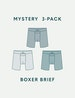 Men's Cool Cotton Boxer Brief Mystery 3 Pack Image