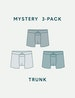 Men's Second Skin Trunk Mystery 3 Pack Image