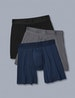 Second Skin Relaxed Fit Boxer 3 Pack Image