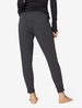 Women's Henley & Jogger Lounge Set, Charcoal Heather
