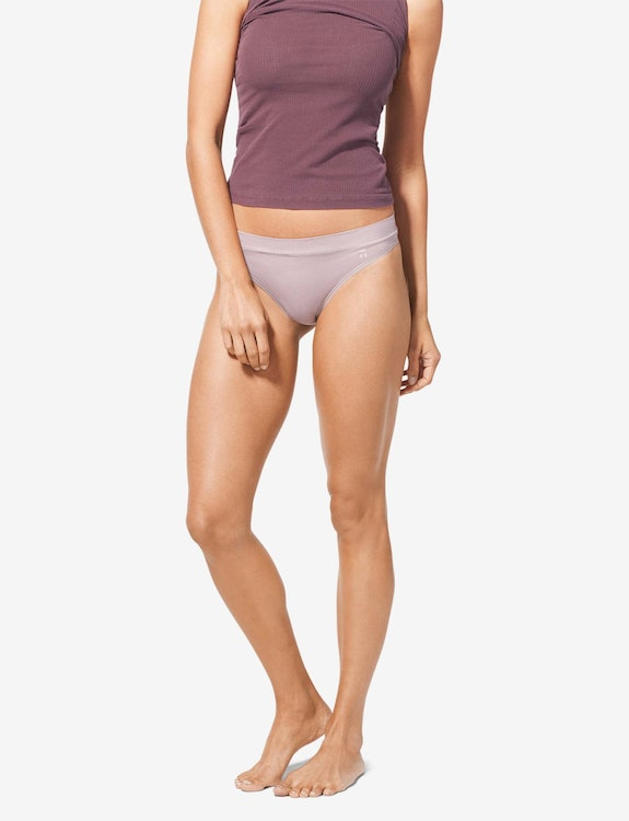 Women's Cool Cotton Thong, Solid