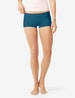 Women's Second Skin Boyshort, Solid