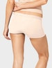 Women's Second Skin Boyshort, Solid Image