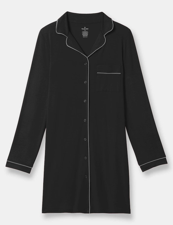 Women's Pajama Shirt Dress
