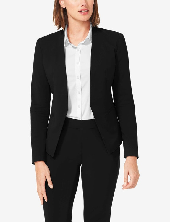 Women's Stretch Woven Blazer