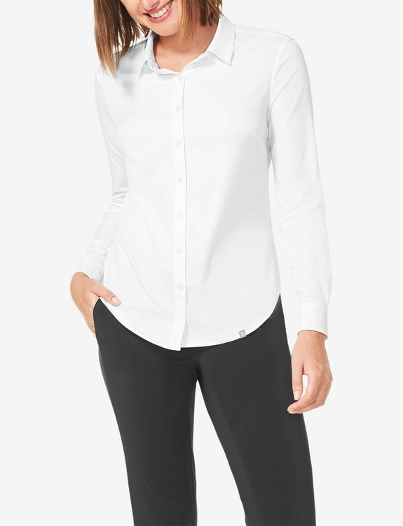 Women's Go Anywhere® Slim Fit Button Down Shirt
