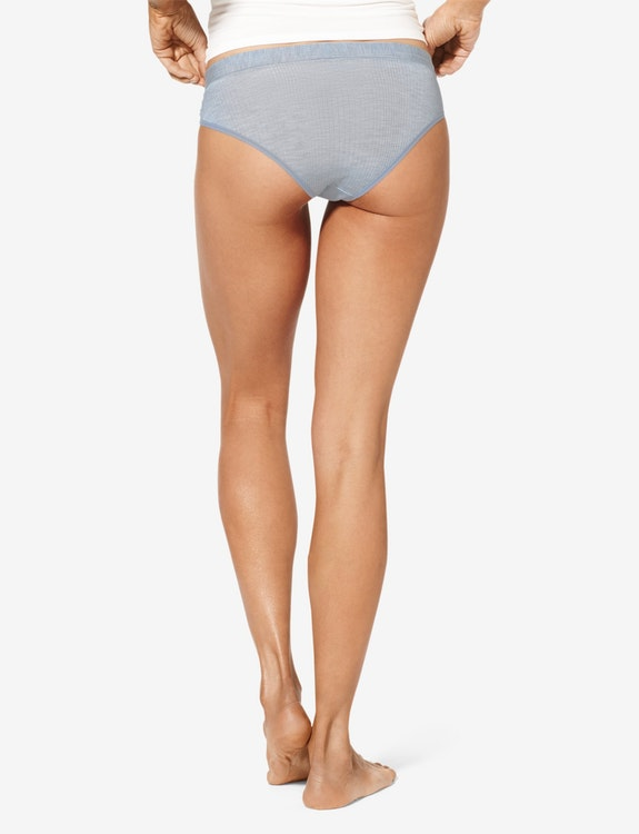 Women's Second Skin Cheeky, Luxe Rib