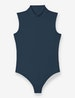 Women's Second Skin Mock Neck Bodysuit