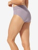 Women's Second Skin High Rise Brief, Lace Waist Image