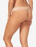 Women's Second Skin Thong, Lace Waist Image