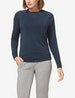 Women's Lounge Crew Neck Sweatshirt Image