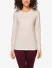 Women's Second Skin Long Sleeve Crew Neck Tee Image